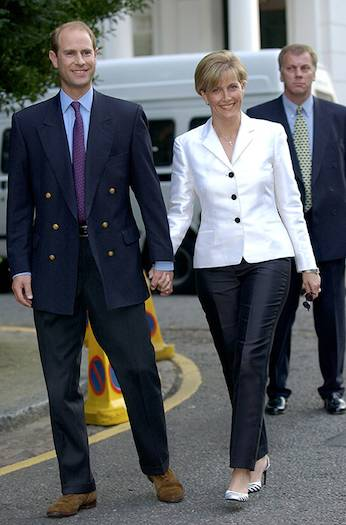 Prince Edward and the Countess of Wessex Photo C GETTY IMAGES