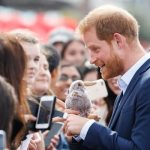 Prince Harry chats with well wishers in New Zealand 2018 Image Getty