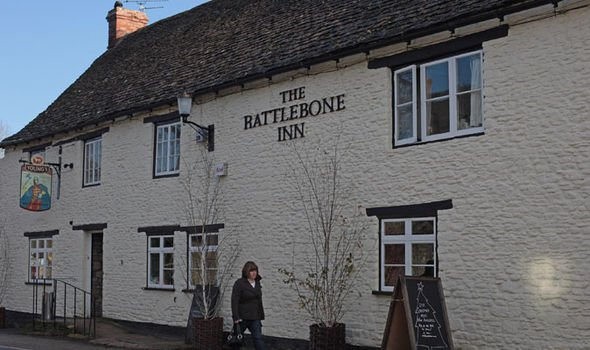 Prince Harry was caught underage drinking at the Rattlebone Inn in Sherston near Highgrove Image Getty