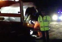 Prince Philip car crash Footage shows aftermath of the two vehicle crash Image BBC