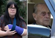 Prince Philip crash Victim Emma Fairweather has opened up after the horror crash Image STAN KUJAWA GETTY
