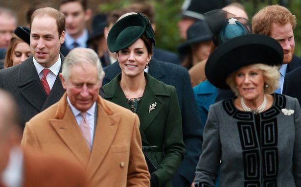 Prince William Duke of Cambridge Prince Charles Prince of Wales Catherine Duchess of Cambridge and Camilla Image C Chris Jackson Getty Images