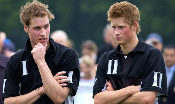 Prince William and Prince Harry as teenagers Image Getty 3