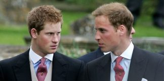 Prince William and Prince Harry as teenagers Image Getty