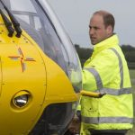 Prince William worked as an air ambulance pilot from 2015 2017 with the East Anglian Air Ambulance Image Getty