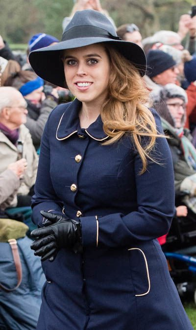Princess Beatrice has been dating Mr Mozzi since October Image GETTY