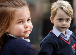 Princess Charlotte will attend the same school as her older brother Prince George Image GETTY
