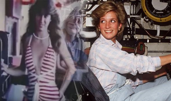 Princess Diana's SHOCK at half-naked women in submarine REVEALED