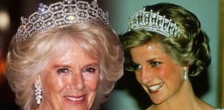 Princess Diana and Camilla Why is Duchess of Cornwall's tiara worth millions more Image GETTY