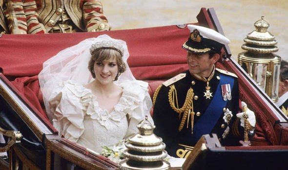 Princess Diana and Prince Charles married in 1984 Image GETTY