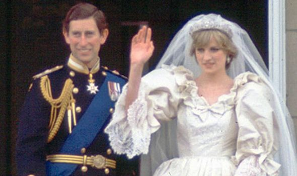 Princess Diana and Prince Charles on their wedding day 29th July 1981 Image Kypros Getty Images