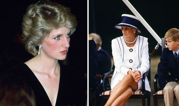 Princess Diana and Prince William Image Getty 01