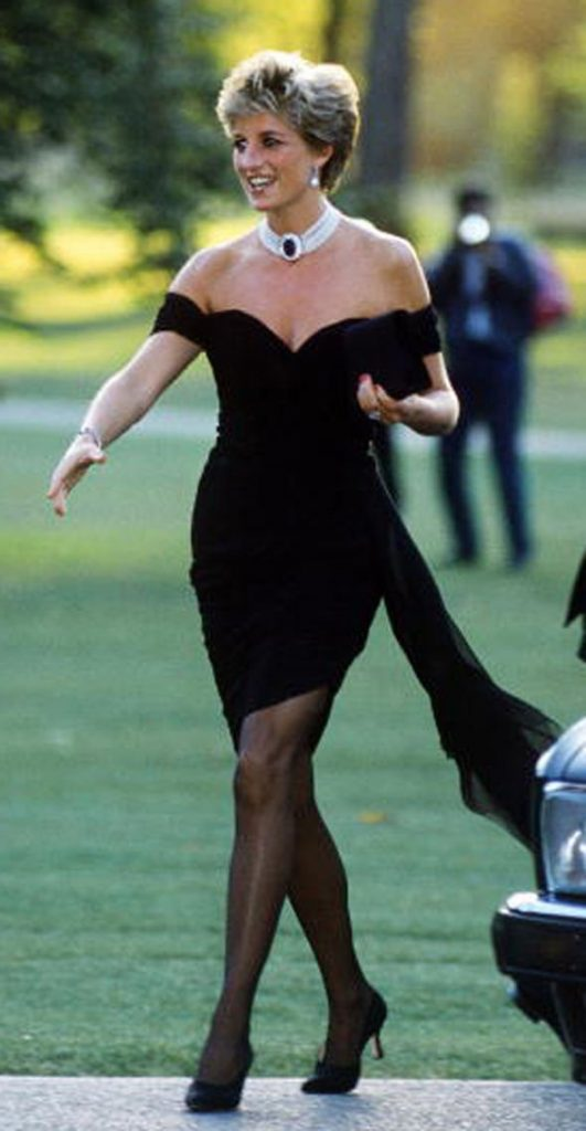 Princess Diana arriving at the Serpentine Gallery London in June 1994 Image Jayne Fincher Getty Images