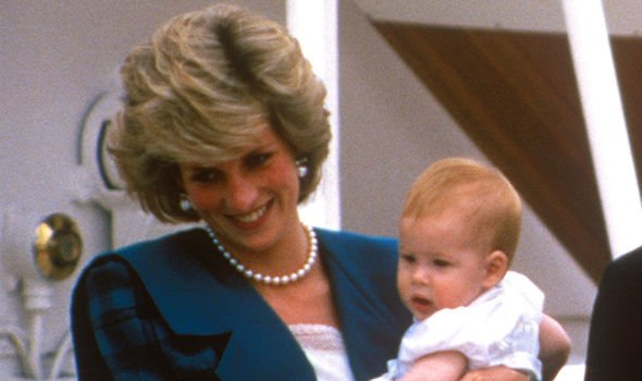 Princess Dianas death had quite a serious effect on Prince Harry Image GETTY