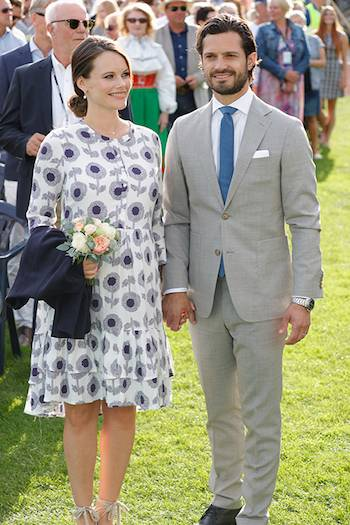 Princess Sofia and Prince Carl Philip of Sweden Photo C GETTY IMAGES