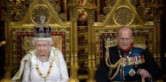 Queen Elizabeth II and Prince Philip Carl Court Photo C AFP Getty Images