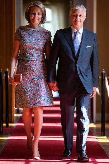 Queen Mathilde and King Philippe of Belgium Photo C GETTY IMAGES