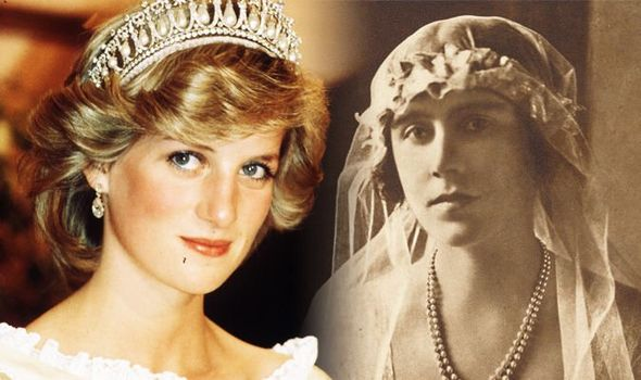 Queen Mother Princess Diana's wedding had link to Elizabeth Bowes Lyon Image GETTY