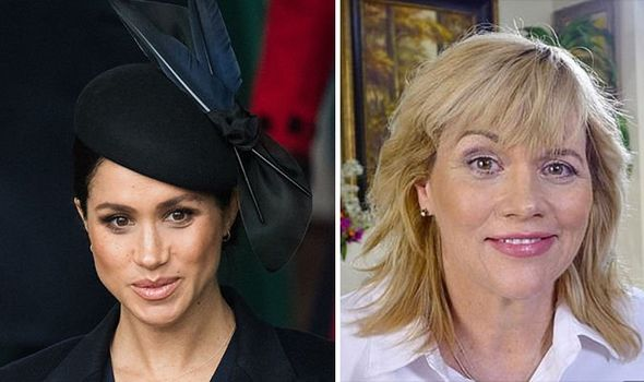 Royal WARNING Samantha Markle is said to have been placed on a Scotland Yard watchlist after public Image Getty
