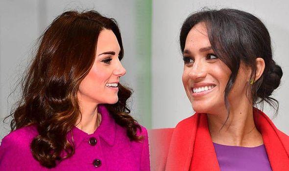 Royal family NICKNAMES Both Meghan and Kate have nicknames inside the Royal circle Image GETTY