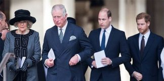 Royal news Prince William and Harry are distant from Camilla Image GETTY