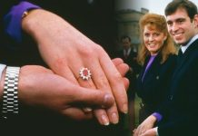 Sarah Ferguson Prince Andrew gave Fergie a ruby engagement ring Image GETTY
