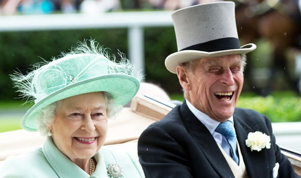 The 92 year old monarch and Prince Philip have been married for 72 years Image GETTY