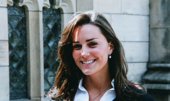 The Duchess left the prestigious boarding school in July 2000 to attend St Andrews University Image GETTY