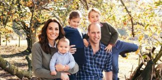 The Duke and Duchess of Cambridge with their three children Prince Louis Princess Charlotte and Prince George Image Matt Porteous