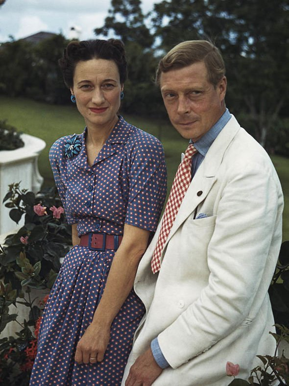 Wallis Simpson was given the title of Duchess of Windsor after marrying Edward VIII Image Bachrach Getty Images