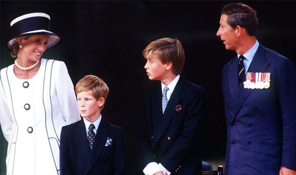 The Prince and Princess of Wales were united in their love for their boys Image Getty