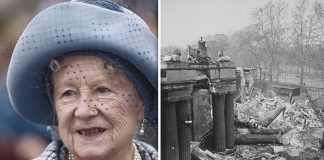 The Queen Mother claimed she was glad Buckingham Palace had been bombed Image GETTY