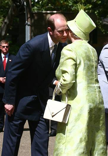 The Queen and Prince Edward Photo C GETTY IMAGES