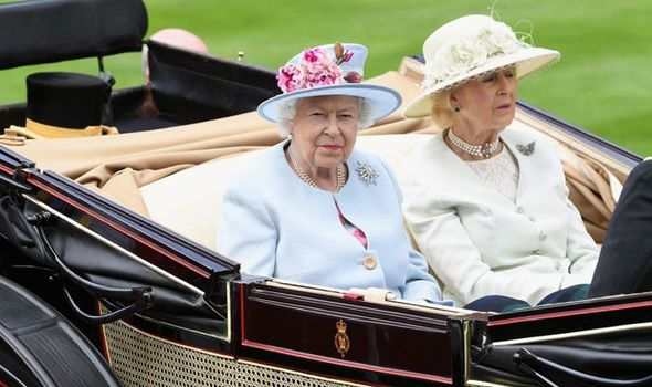 The Queen and Princess Alexandra Image Stuart C Wilson Getty
