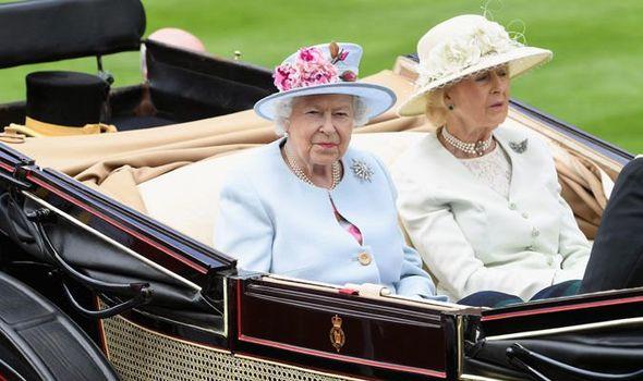 The Queen and Princess Alexandra Image Stuart C Wilson Getty