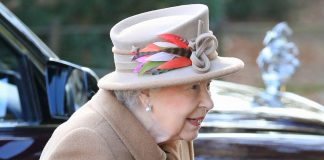 The Queen puts on a brave face following Prince Philips car crash Photo C GETTY IMAGE