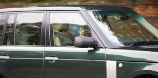 The Queen was seen taking an afternoon drive in Norfolk Image Geoff Robinson 1
