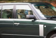 The Queen was seen taking an afternoon drive in Norfolk Image Geoff Robinson
