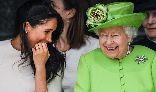The Queen will award Meghan with her dream role Image GETTY