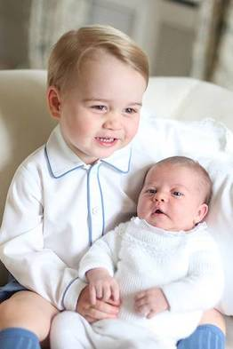The cutest photos of Prince Louis Prince George and Princess Charlotte taken by mum Kate Middleton Photo C REX 07