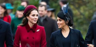 The duchesses have faced claims of a rift Image GETTY