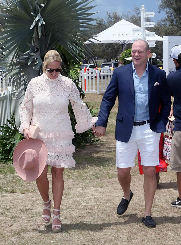 The royal couple looked loved up as they enjoyed a romantic day at the Doug Jennings Park Image Media Mode