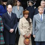 The royals will all be together on Christmas Day Image GETTY