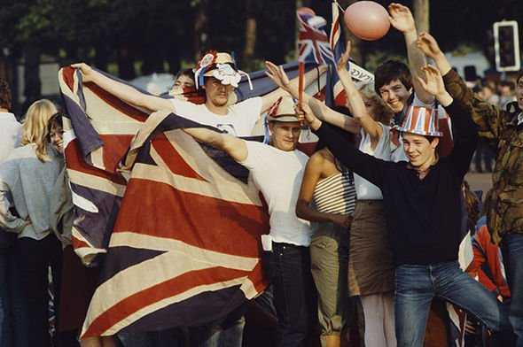 The wedding of Charles and Diana was a breath of fresh air from the stream of bad news in England Image Getty