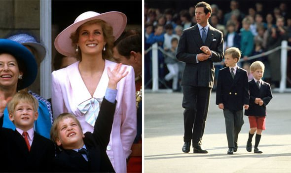 the young prince william and prince harry with their parents princess diana and prince charles image getty dianalegacy latest update news images videos of british royal family dianalegacy