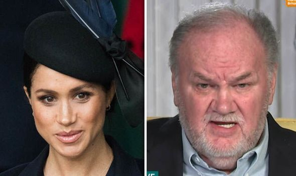 Thomas Markle has revealed plans to write a book about Meghan Image GETTY ITV
