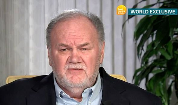 Thomas Markle made a plea for his daughter to get in touch during an interview for ITVs Good Mornin Image ITV