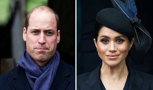 William wanted to escape Meghan during Sandringham Christmas celebrations Image GETTY