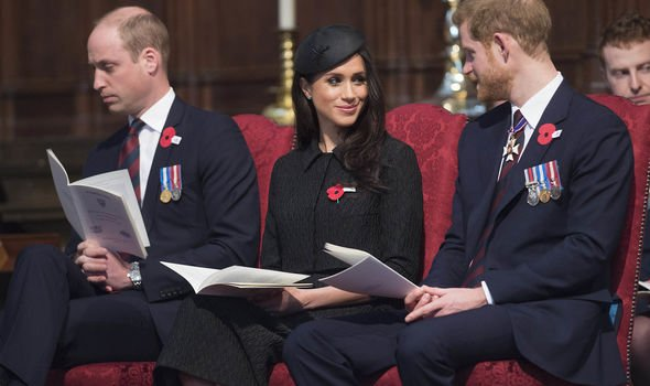 Williams body language distances himself from Meghan Mr Stanton claims Image GETTY