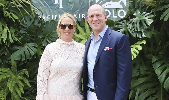 Zara and Mike Tindall arrived hand in hand at the Magic Millions Polo event Image Media Mode